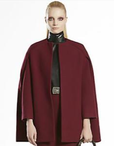 Gucci cape: favorite of stylist Christy