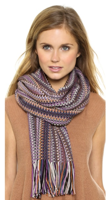 Missoni scarf available at  SHOPBOP for $190.