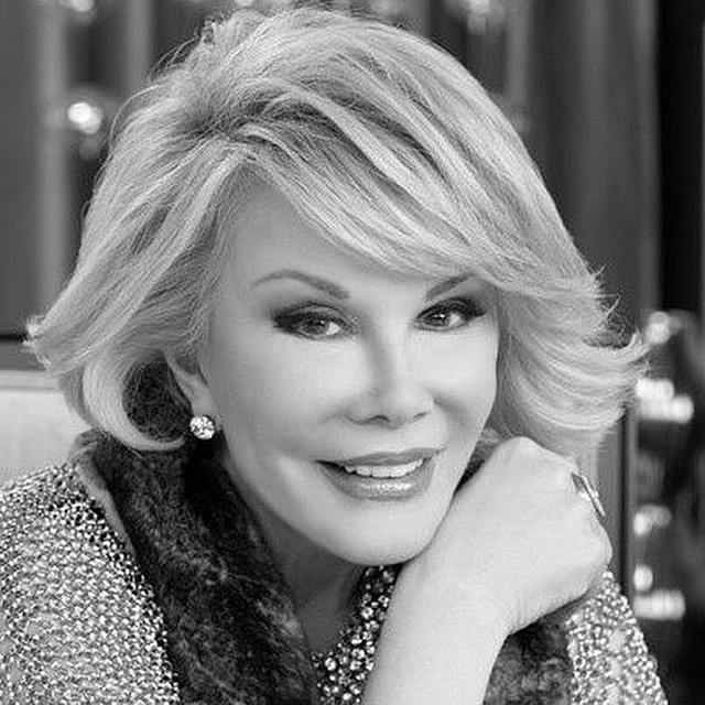 RIP Queen of Red Carpet Fashion @joanrivers