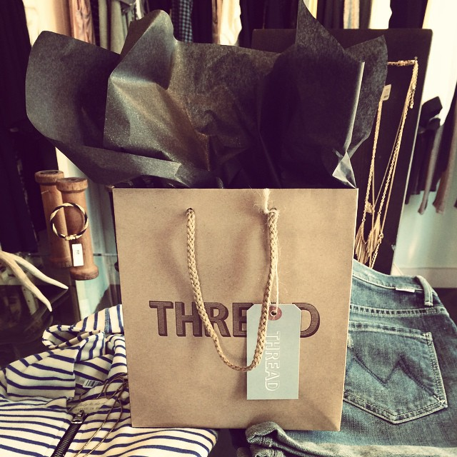 Stopped by @threaddublin to celebrate their 1 year anniversary!! Thanks for the goodie bag?