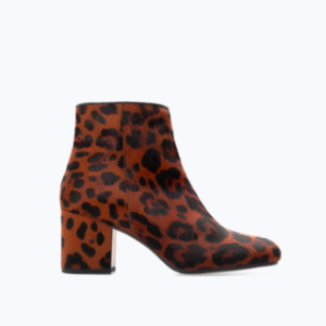 Leopard obsessed? Me too. This fab bootie w/ a slight chunky heel is from Zara for $159