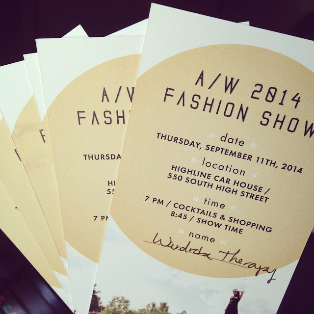 Picked up our @roweboutique fashion show tickets! So excited for this fabulous evening with stylish friends! #stylists #fashionparty #whoisin