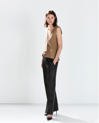 Christy's pick: Leather Trouser Pant