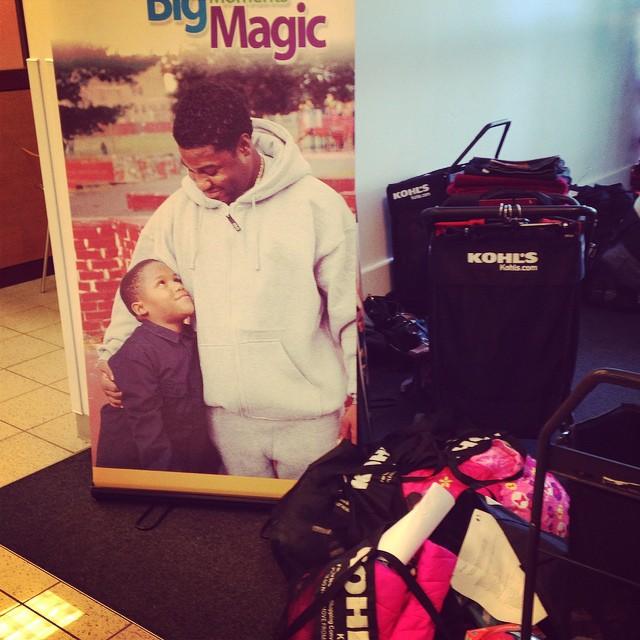 Success!! @bigbrotherbigsister shopping for a cause. #loveshopping #shopforacause #holidays