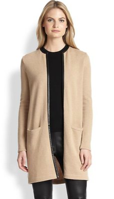 Ralph Lauren Black Label cardigan from Saks Fifth Avenue.