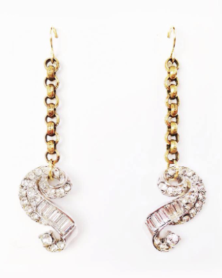 """All Glammed Up"" earrings by Honey Rose & K."