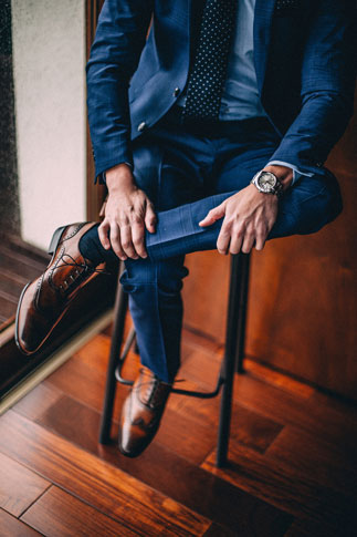 Men's fashion styling in Columbus, Ohio