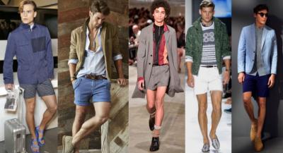 short shorts en vogue