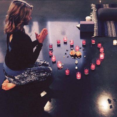 Debbie Meditating