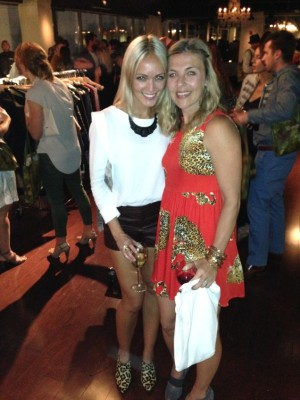 Elizabeth with Christy Walsh, who joined Wardrobe Therapy in 2012 and is now Style Director.