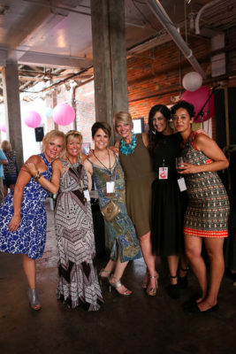 Dine. Drink. Dress. 2015 with event co-chairs and Dress Board President Melba Bierdeman