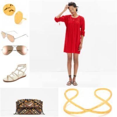 DAY RED DRESS