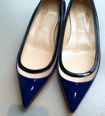 The perfect touch of blue, Louboutin style