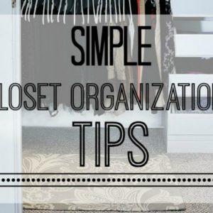 Closet Refresh:  7 Steps To A Closet You Will Love