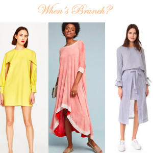 Spring Holiday Brunch: What We're Wearing