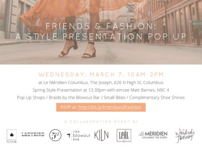 Friends And Fashion A Style Presentation Pop Up Event Wardrobe Therapy