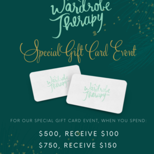 HOLIDAY GIFTCARDS ARE HERE & A BOOZY BRUNCH EVENT!